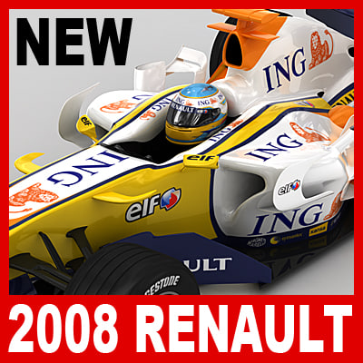 2008 renault r28 3ds