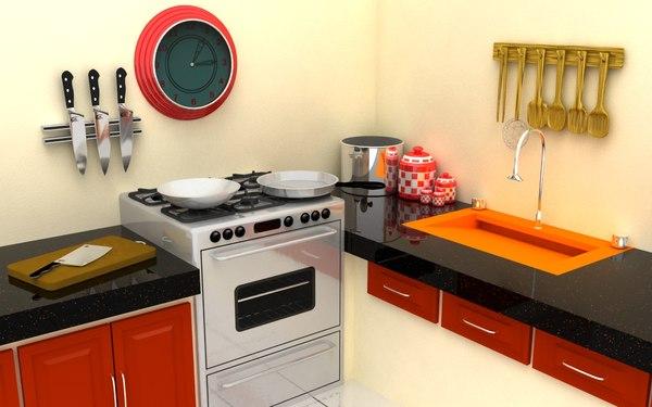 Kitchen Setting Model
