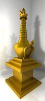 free max mode tibetan stupa