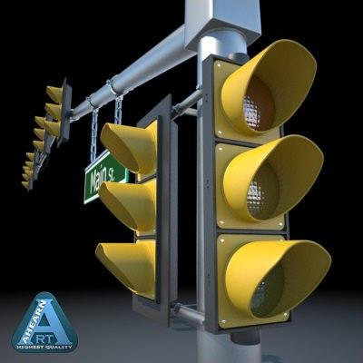 traffic signal 3ds