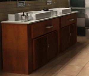 3d bathroom room baño model