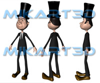 cinema4d british gentleman
