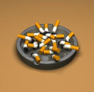 ash-tray c4d free