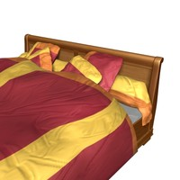maya bed wood