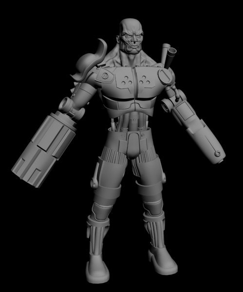cyborg 3 max