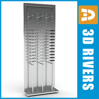 Glasses display rack full by 3DRivers