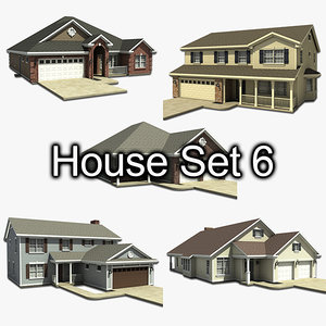 house set 3ds