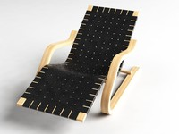 3d lounge chair