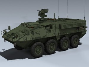 3d m1126 stryker icv 2 model