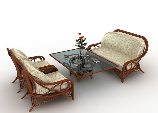 3d furniture model