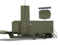military radar 3d model