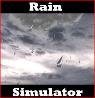 3d rain simulator