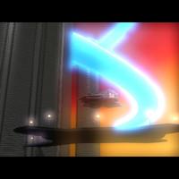 3d model sci-fi space scene