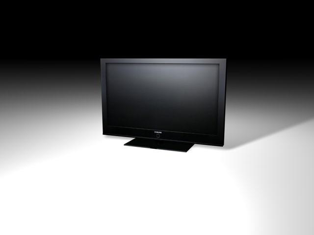 plasma tv c4d