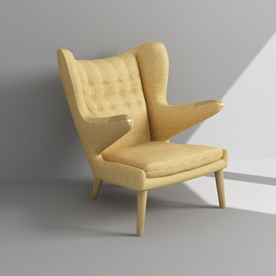 maya design armchair