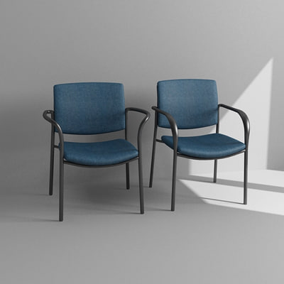 3d model office armchairs