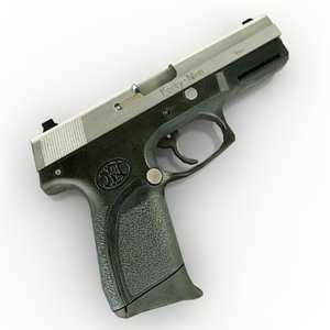 gun 3d max