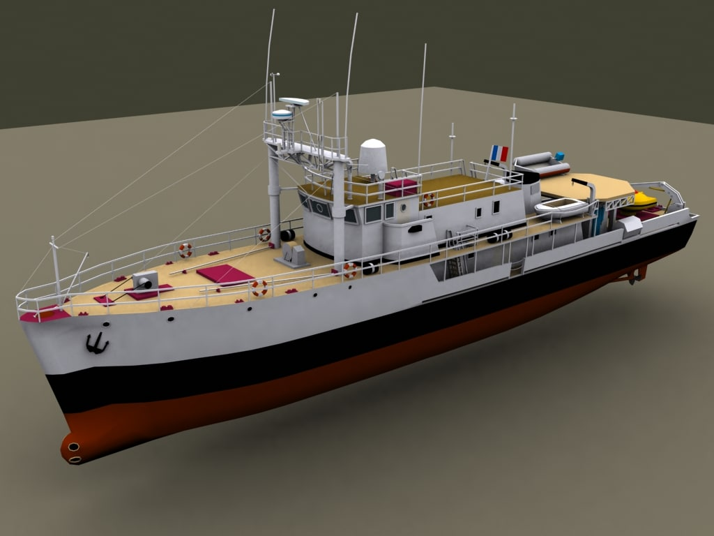 research calypso 3d model