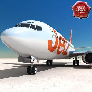 3d 3ds airline jet2