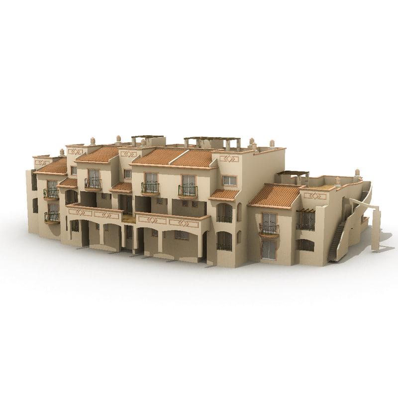 apartments 17 3d obj