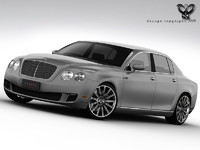 3d bentley continental flying spur