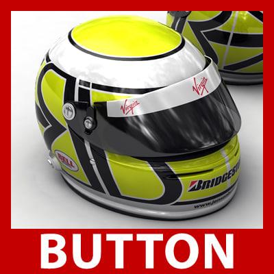 3d model 1 f1 williams button