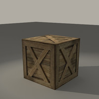 simple crate obj