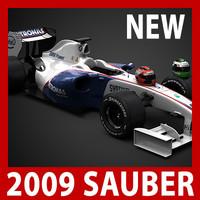 1 f1 formula1 sauber 3d model