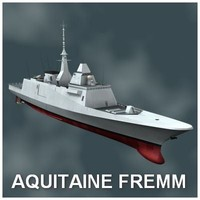 Aquitaine Multimission frigate FREMM