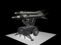 3d ironman jericho missiles