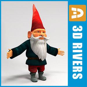 3d gnome fairy tale
