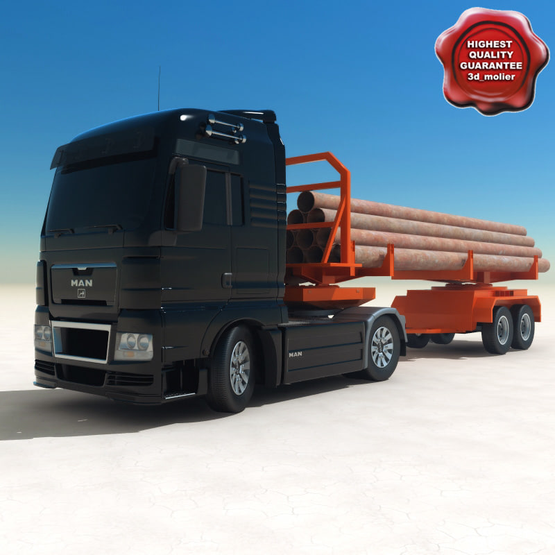 man pipe carrier 3d 3ds
