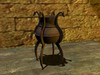 maya medieval torch