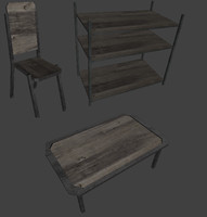 misc furniture table x free