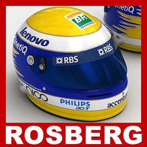 3d 1 f1 williams rosberg