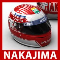 3d 1 f1 kazuki nakajima