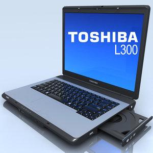 maya notebook toshiba l300