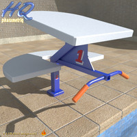Pool Starting Block 00