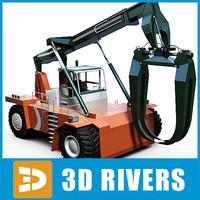 Reach stacker 01 by 3DRivers