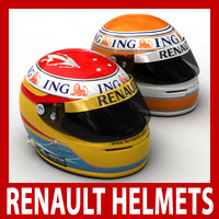 3d model of fernando alonso nelson piquet