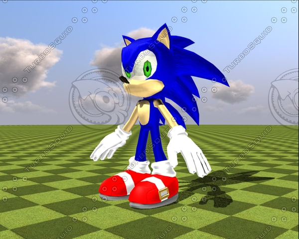 blender sonic hedgehog