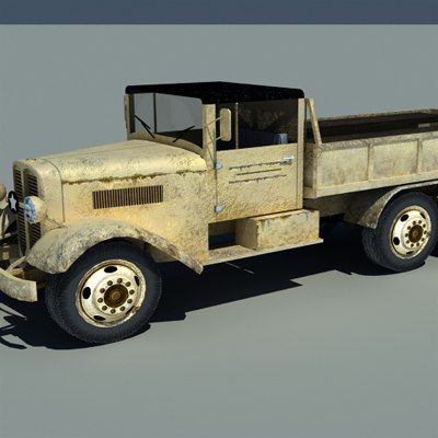 truck duty world 3d model