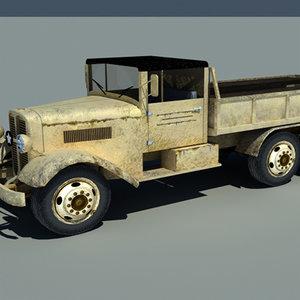 truck duty world 3d model