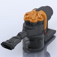 vacuum cleaner dyson dc16 3d model