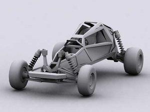 3d model dune buggy