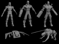 Cyborg Models 5 Pack