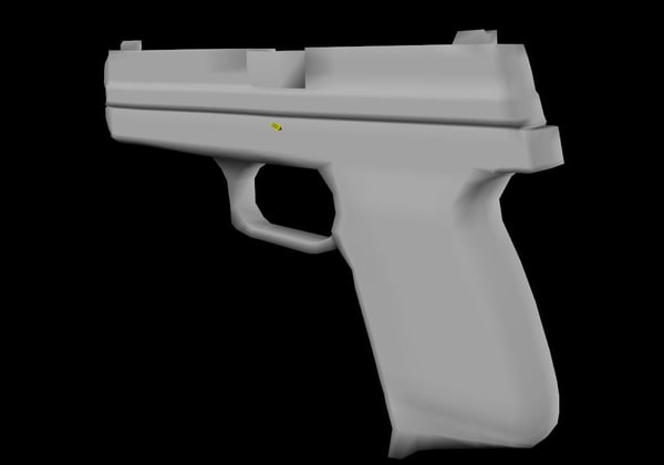 free 3ds model simple fn49
