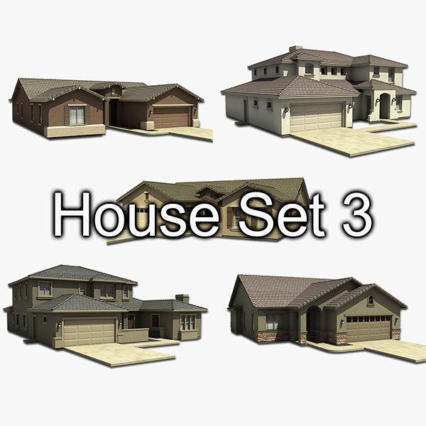house set 3 max