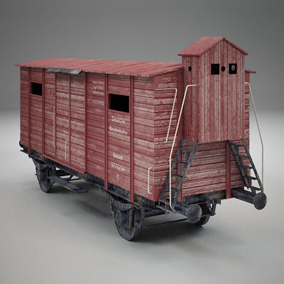 auschwitz carriage car max