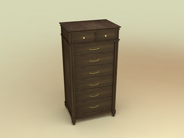 klaussner chest drawers furniture 3d 3ds